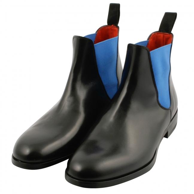 Chealsea-boots-cuir-noir-bleu-mystere-1