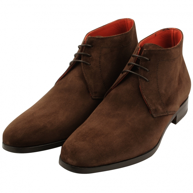 Bottines-a-lacets-homme-nubuck-marron-legend-1