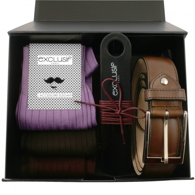 Coffret-cadeau-homme-ceinture-marron-1