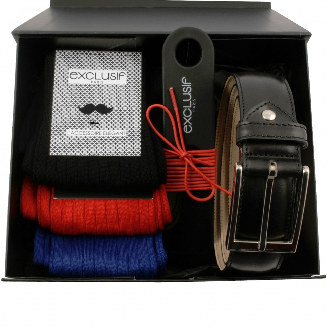 Coffret-cadeau-homme-ceinture-noir-1