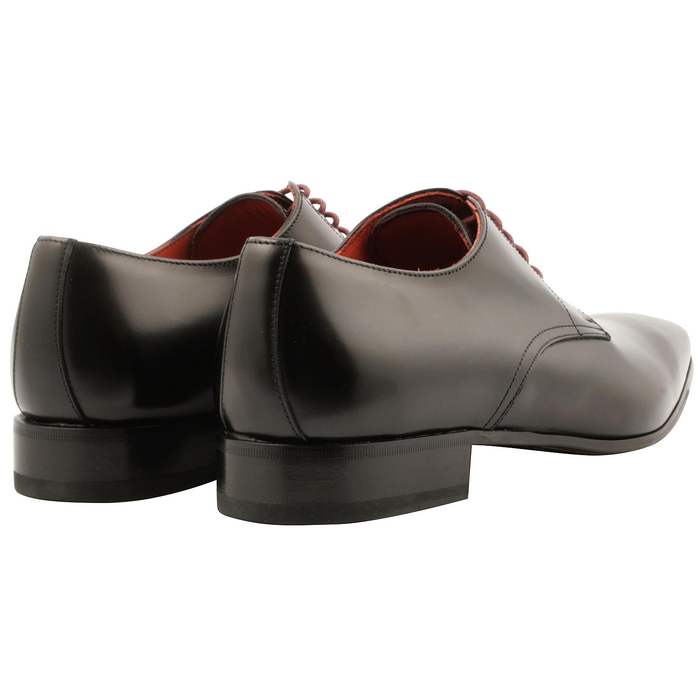 Cuir Exclusif Noir Homme Chaussures Basil Paris En Derbies wqgwYxI