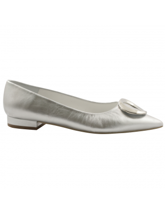 ballerine-pointue-cuir-argent-colombe