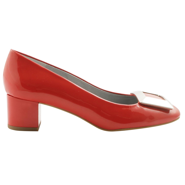 Exclusif Paris Agathe - Chaussures à talon en cuir - noir