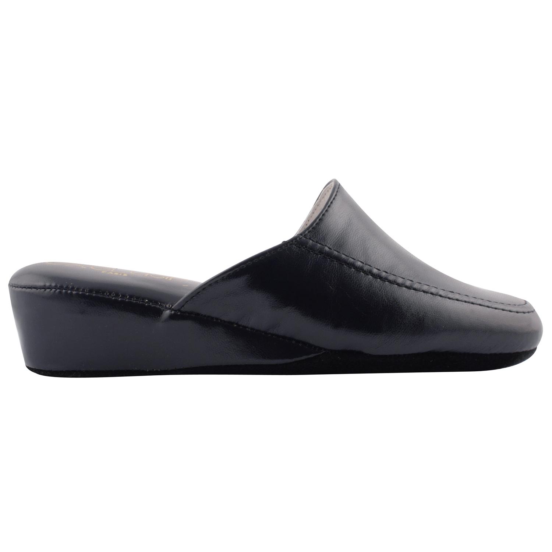 Exclusif Paris Chaussons Nuages Bleu marine - Chaussures Chaussons Femme