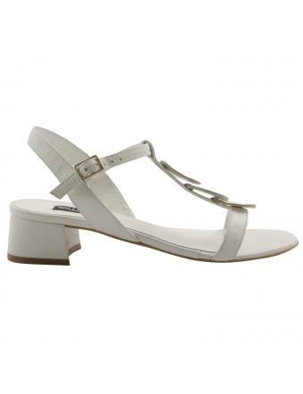 Sandales-a-talons-femme-salome-cuir-blanc-argent