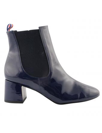 Chaussures-retro-femme-cuir-vernis-bleu-amanda