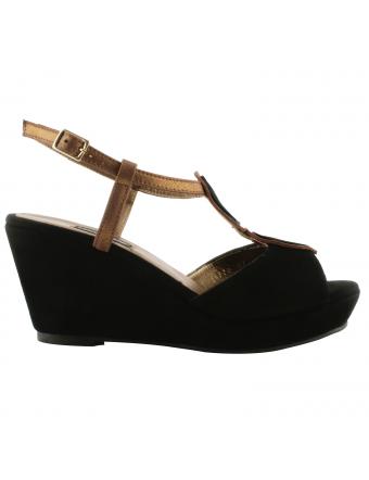 Chaussures-retro-femme-nubuck-noir-cleo