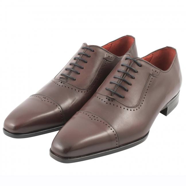 Chaussure-homme-luxe-cuir-bordeaux-isidore