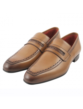 Chaussure-homme-mocassin-vick-cuir-cognac