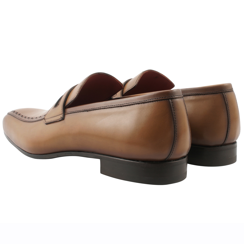 ... Chaussure-homme-mocassin-vick-cuir-cognac ...