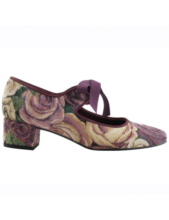Chaussures-Retro-Femme-Zoé-toile-madame