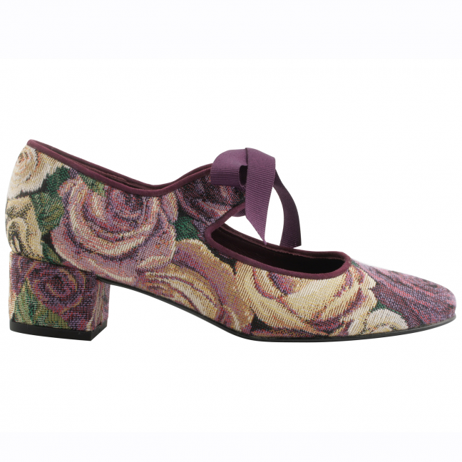 Chaussures-Retro-Femme-Zoé-toile-madame