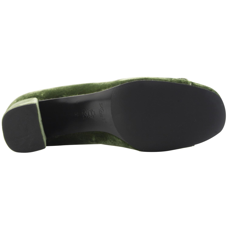 escarpins velours romy de couleur vert aux multiples reflets. Black Bedroom Furniture Sets. Home Design Ideas