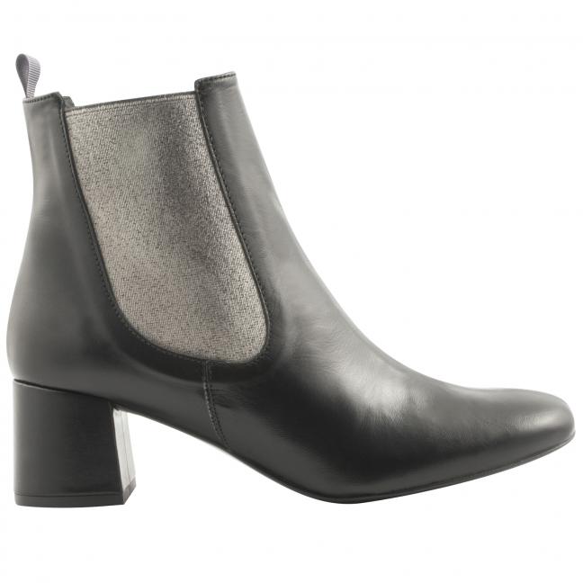 Boots-chelsea-femme-Amanda-cuir-noir-plomb