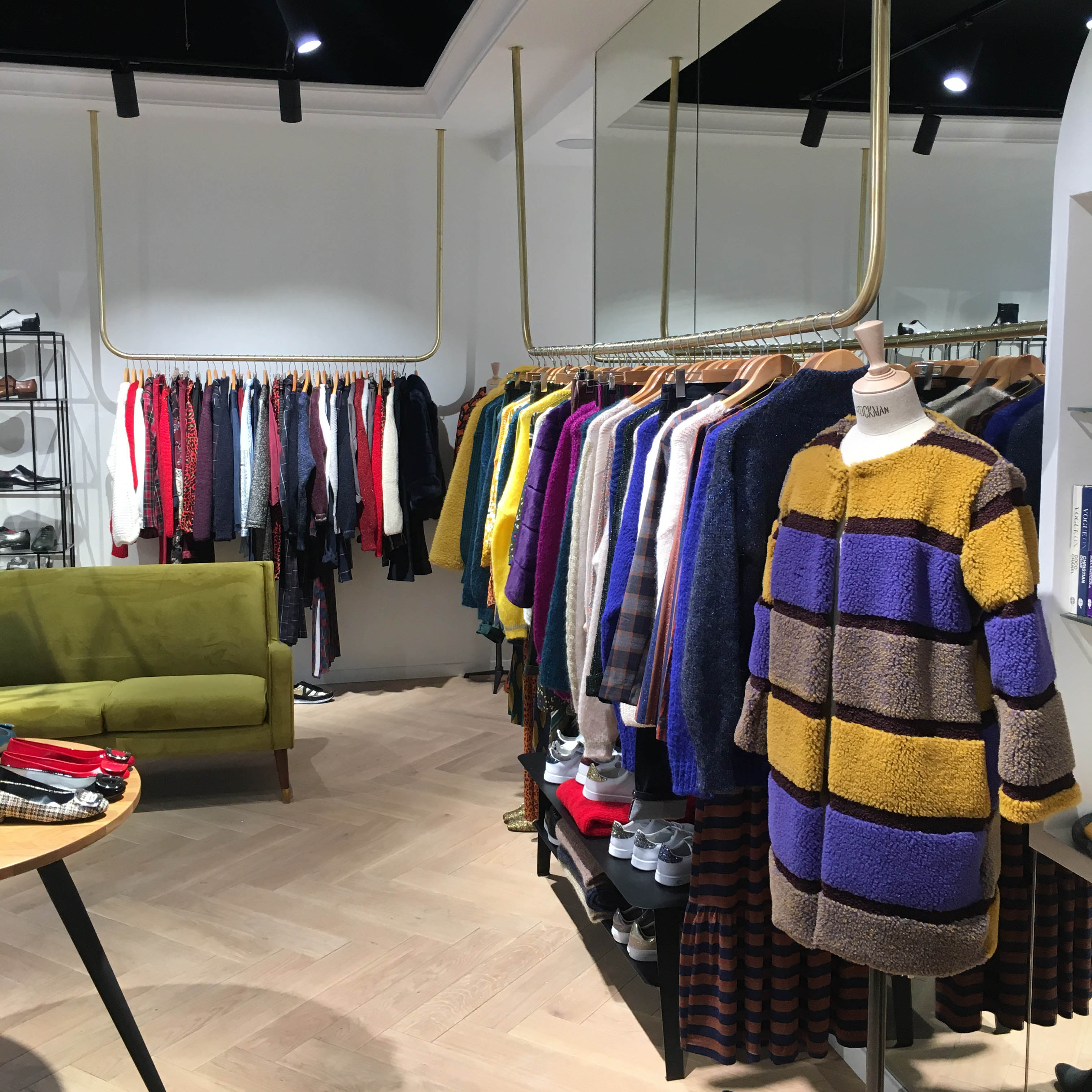 magasin concept store mode paris