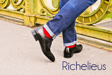 Richelieus homme Exclusif Paris
