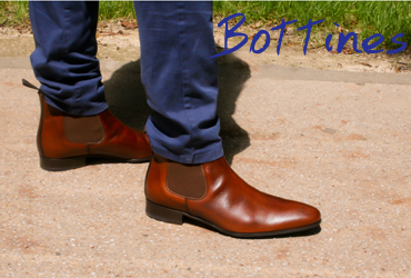 Bottines homme Exclusif Paris